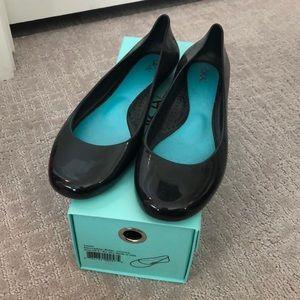 OKA b Taylor Black Licorice Waterproof Ballet Flat